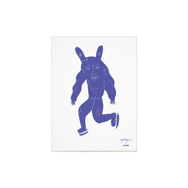 L'affiche Skate Pan de Paper Collective , 30 x 40 cm