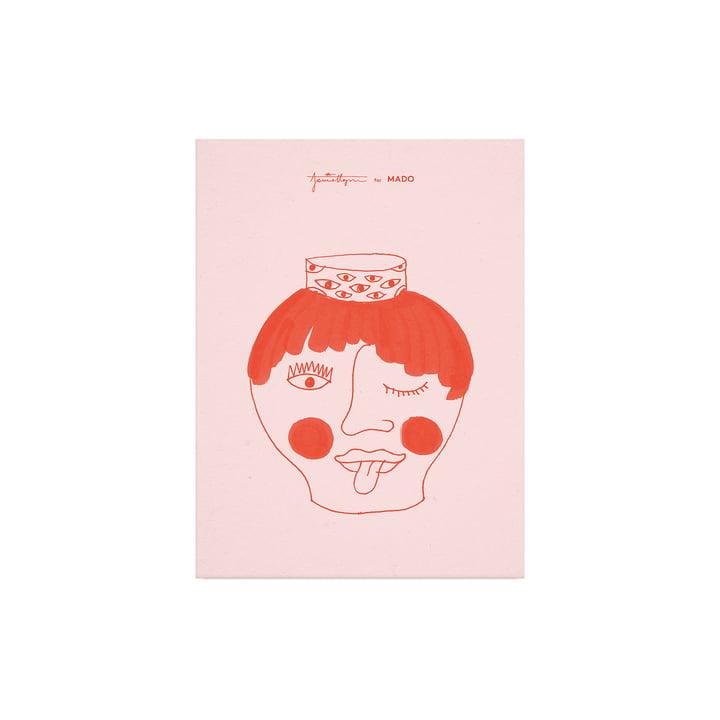 L'affiche Tongy Pongy de Paper Collective , 30 x 40 cm
