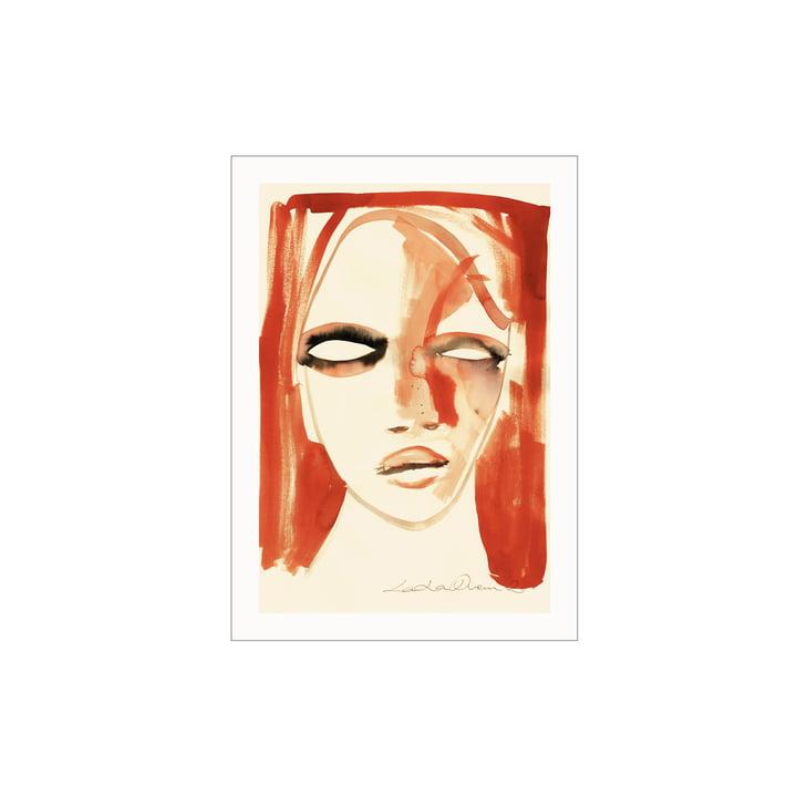 L'affiche Red Portrait de Paper Collective , 30 x 40 cm