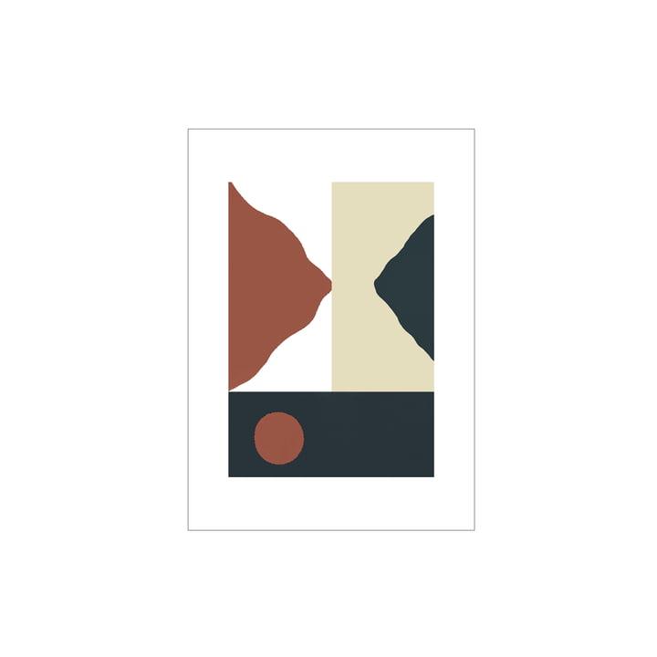 L'affiche Big Sur de Paper Collective , 30 x 40 cm