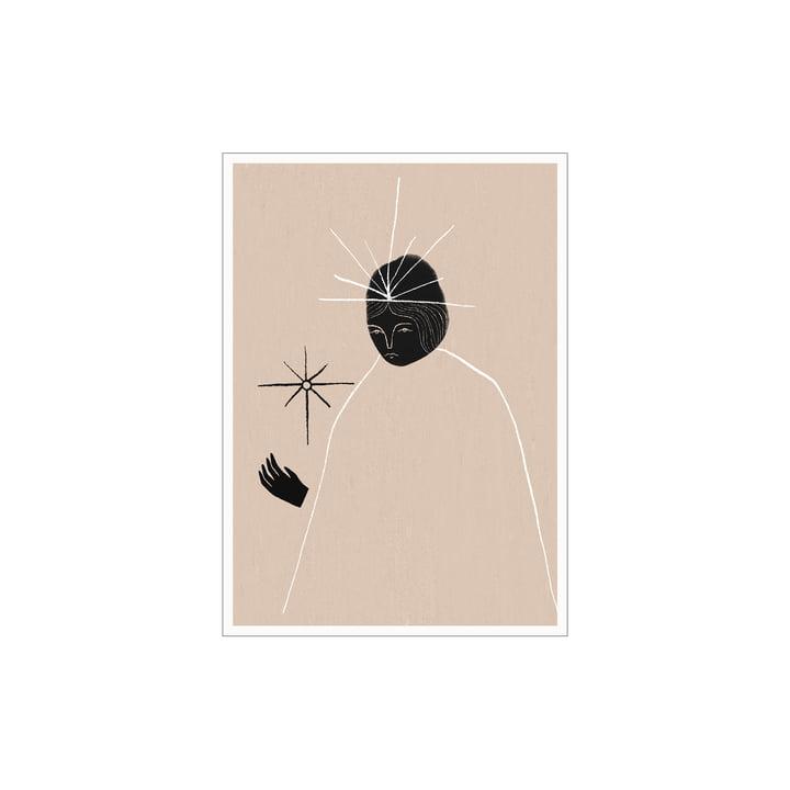 L'affiche Ghost Queen de Paper Collective , 30 x 40 cm