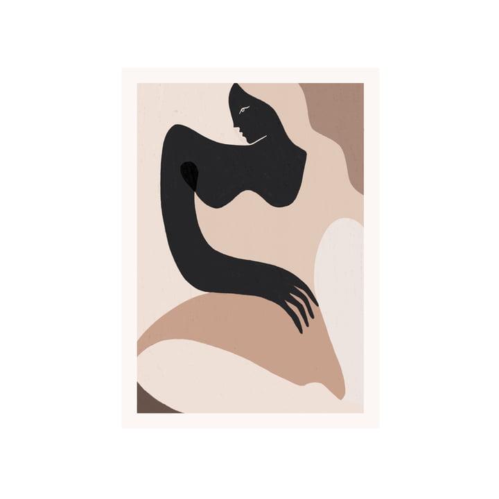 L'affiche Siren de Paper Collective , 50 x 70 cm