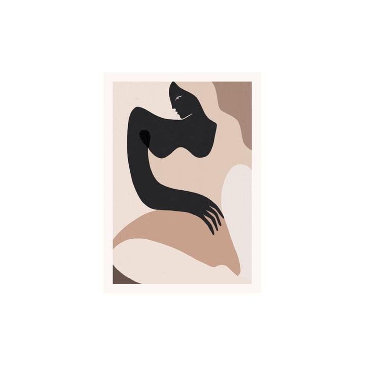 L'affiche Siren de Paper Collective , 30 x 40 cm