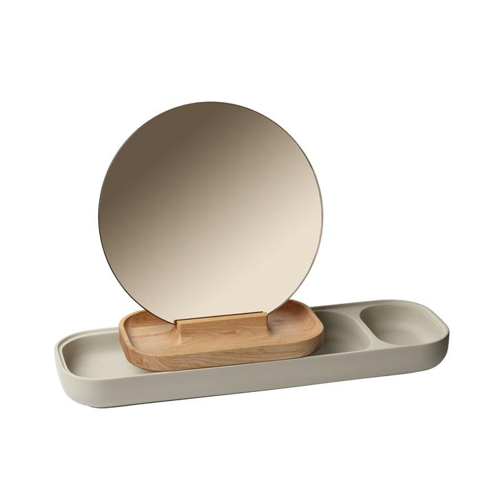Le porte-bijoux avec miroir Slide de Fritz Hansen , Frêne