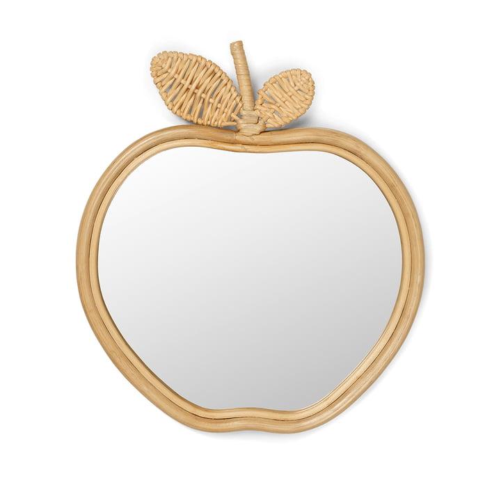 Miroir pour enfants Apple 42 x 37 cm de ferm Living in nature