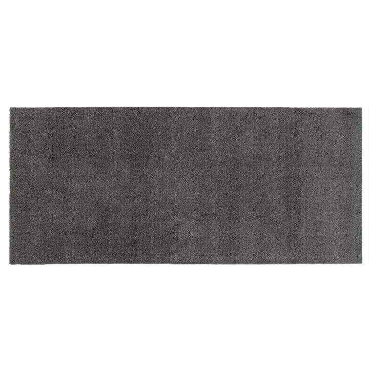 Paillasson Unicolor 67 x 150 cm de tica copenhagen en gris acier