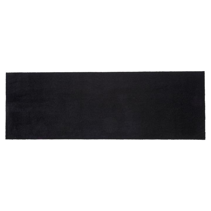 Paillasson 67 x 200 cm de tica copenhagen en Unicolor noir