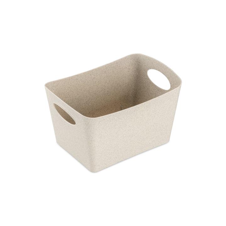Boxxx S Boîte de rangement (recyclée) de Koziol dans la couleur desert sand