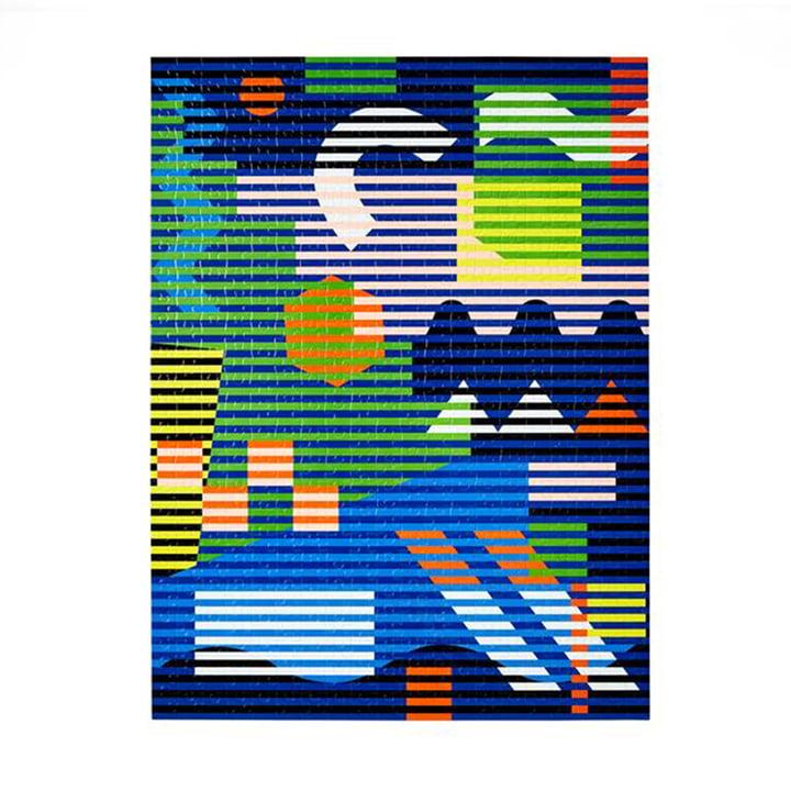 Pattern Puzzle de Areaware en version lenticulaire (500 pièces)