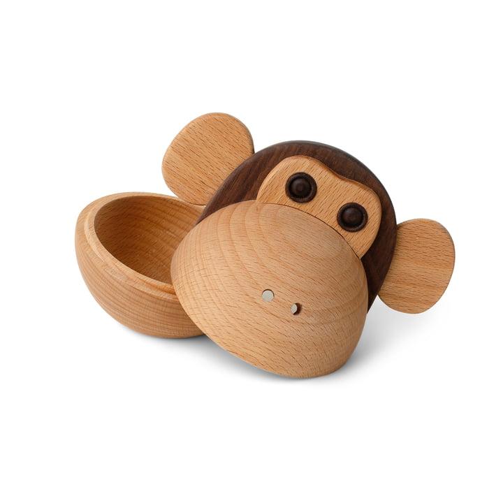 Monkey Bowl Boîte en bois de Spring Copenhagen