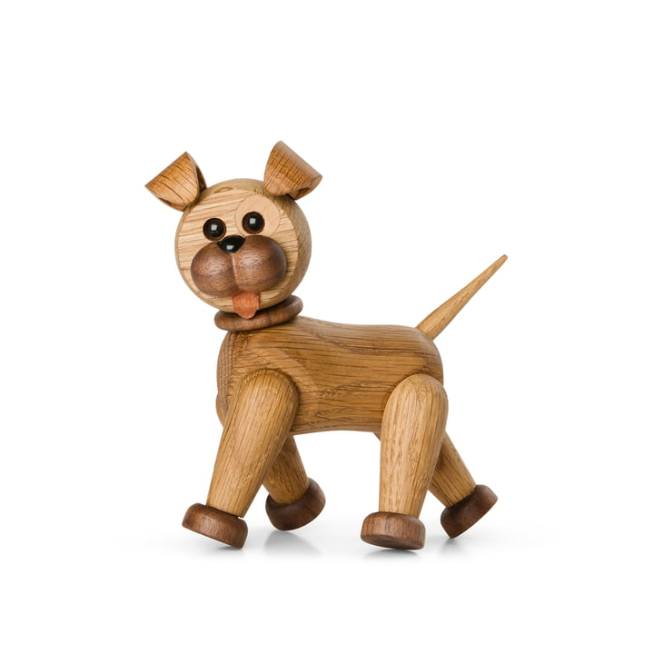 Happy the Dog Figure en bois de Spring Copenhagen