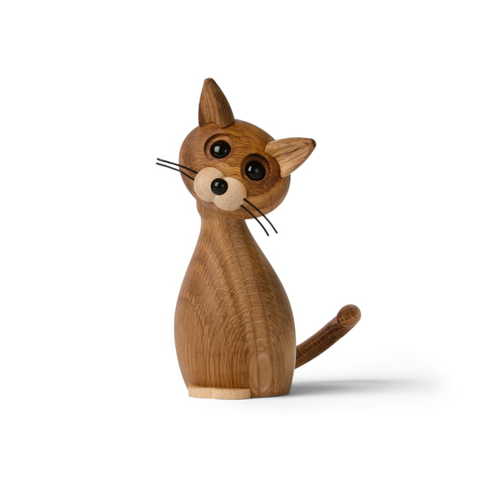 Lucky the Cat Figure en bois de Spring Copenhagen