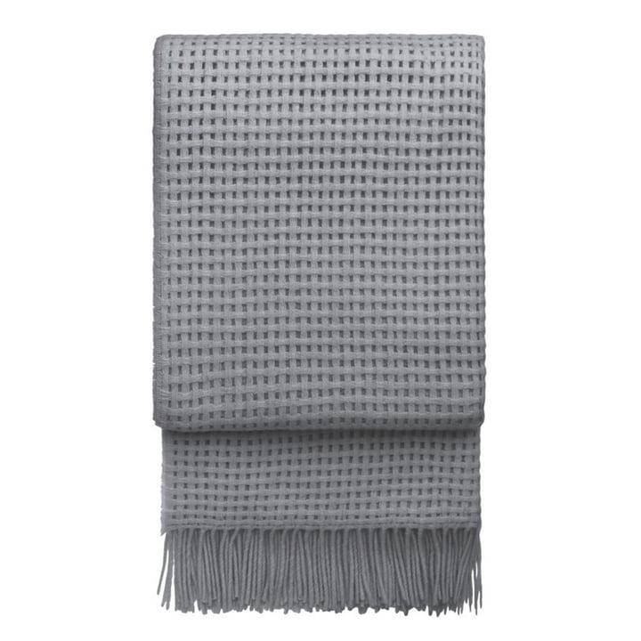 Basket Couverture 130 x 200 cm de Elvang en gris clair