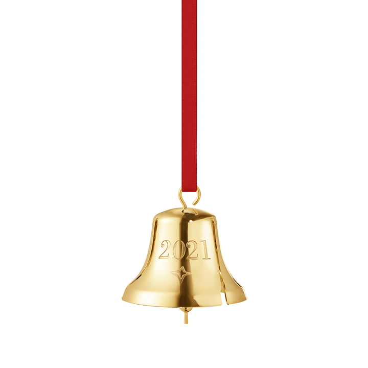 La cloche de Noël 2021 de Georg Jensen , or