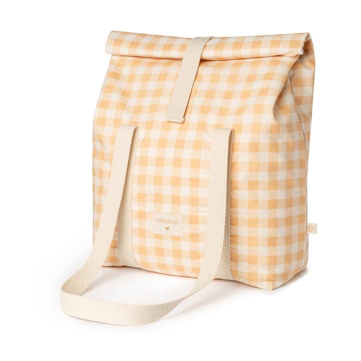 Le sac réfrigérant Sunshine de Nobodinoz, melon vichy