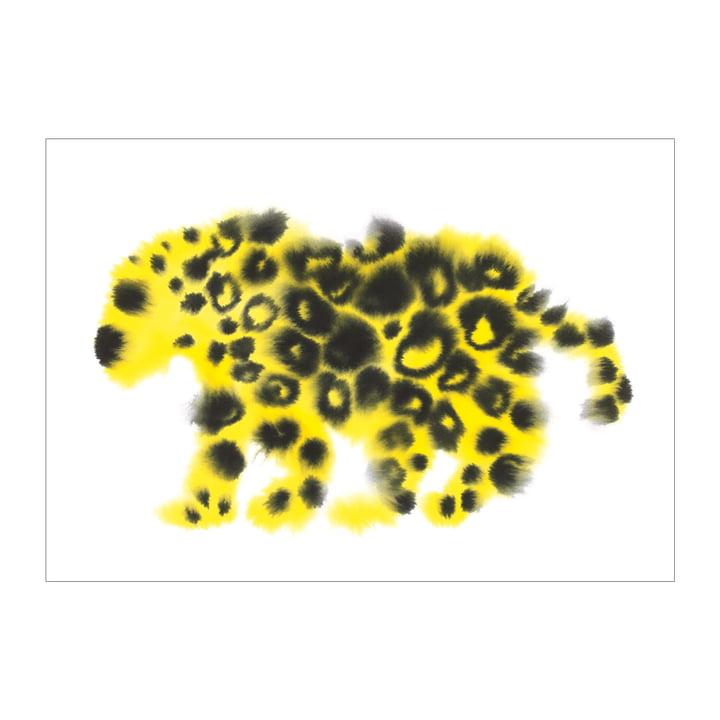 Affiche Jaguar 50 x 67,8 cm de The Wrong Shop en multicolore