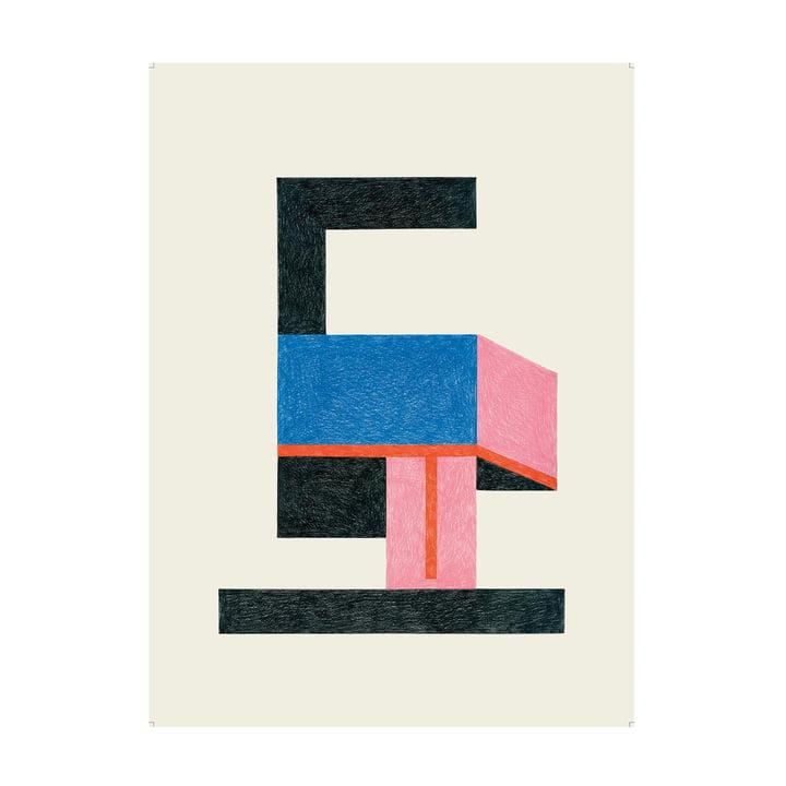 Freddo Poster 47,5 x 67,5 cm de The Wrong Shop en multicolore