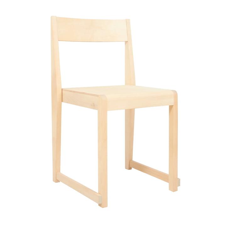 Chair 01 de Frama en bouleau huilé / nature