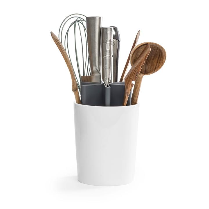 L'organisateur de cuisine Angle de Born in Sweden , gris / blanc brillant