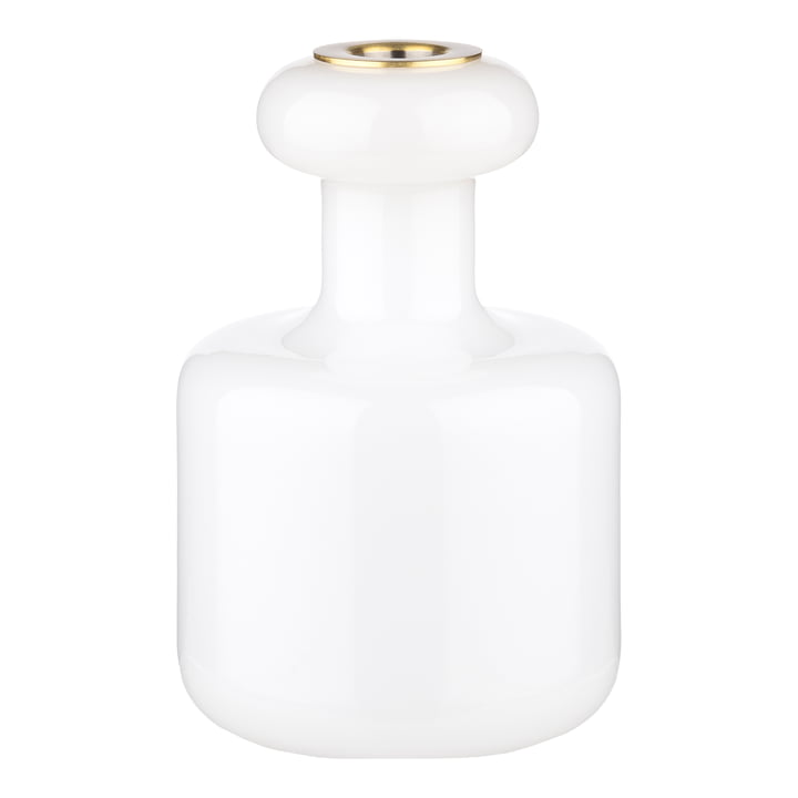 Plunta Bougeoir de Marimekko dans la couleur blanche