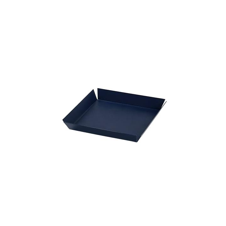 Erika Plateau de service, 14 x 14 cm de Broste Copenhagen en bleu marine