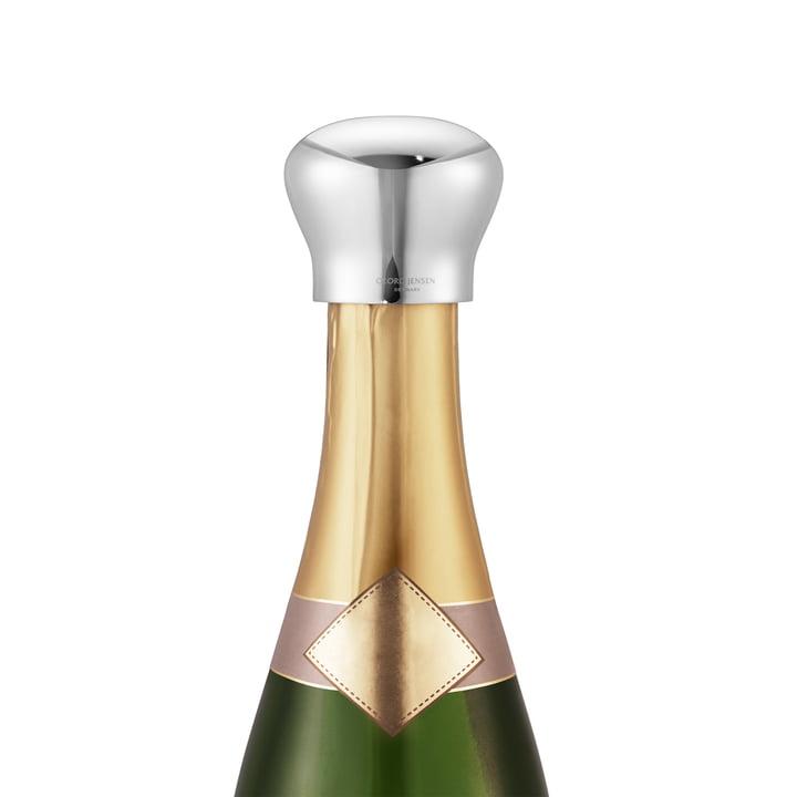 Sky Bouchon à champagne en acier inoxydable de Georg Jensen