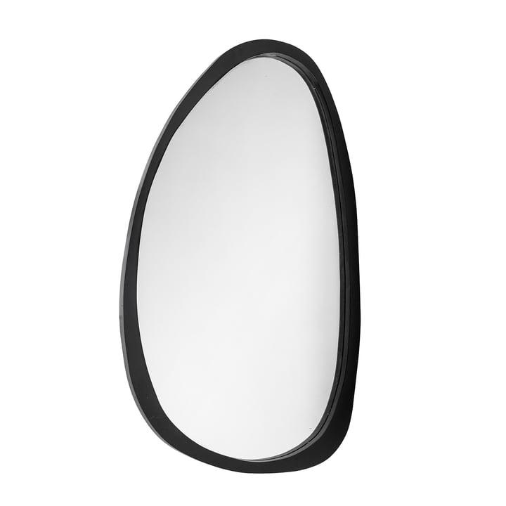 Le miroir Caylin de Bloomingville , 120 x 70 cm, noir