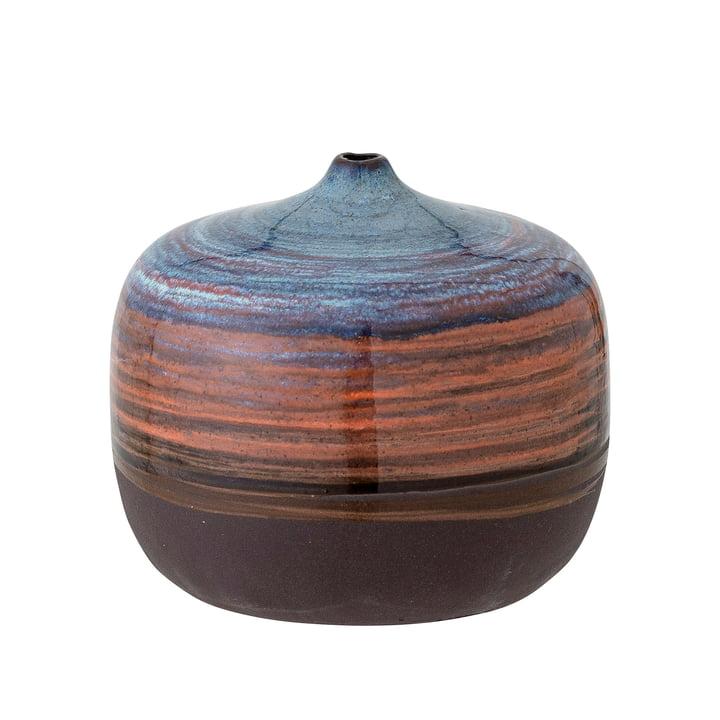 Maes Vase, h 8 cm, bleu de Bloomingville