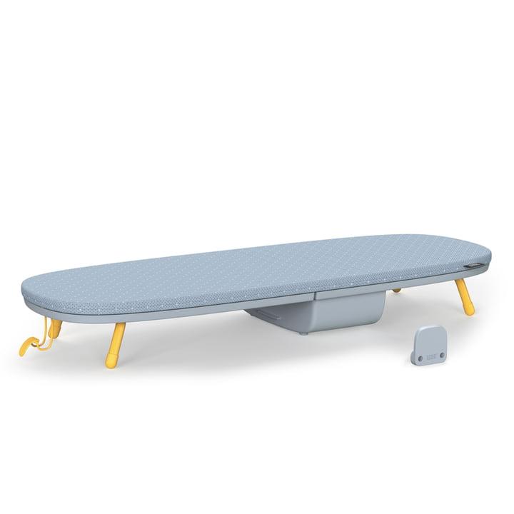 Planche à repasser de table Glide Pocket de Joseph Joseph en gris / jaune