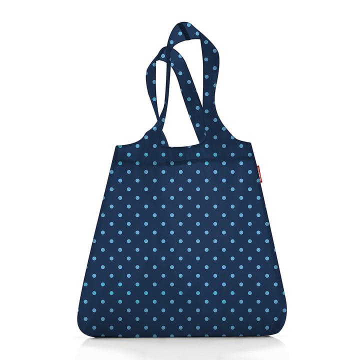 mini maxi shopper par reisenthel dans mixed dots bleu ( Limited Edition )