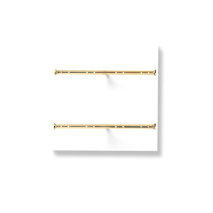 VertiJewlery de Verti Copenhagen en blanc / or