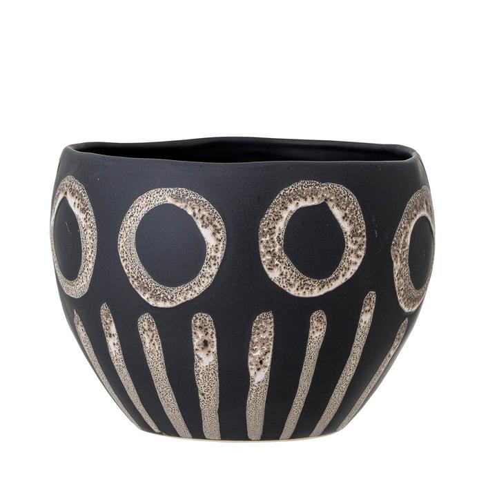 Magnus Pot de fleurs de Bloomingville en noir