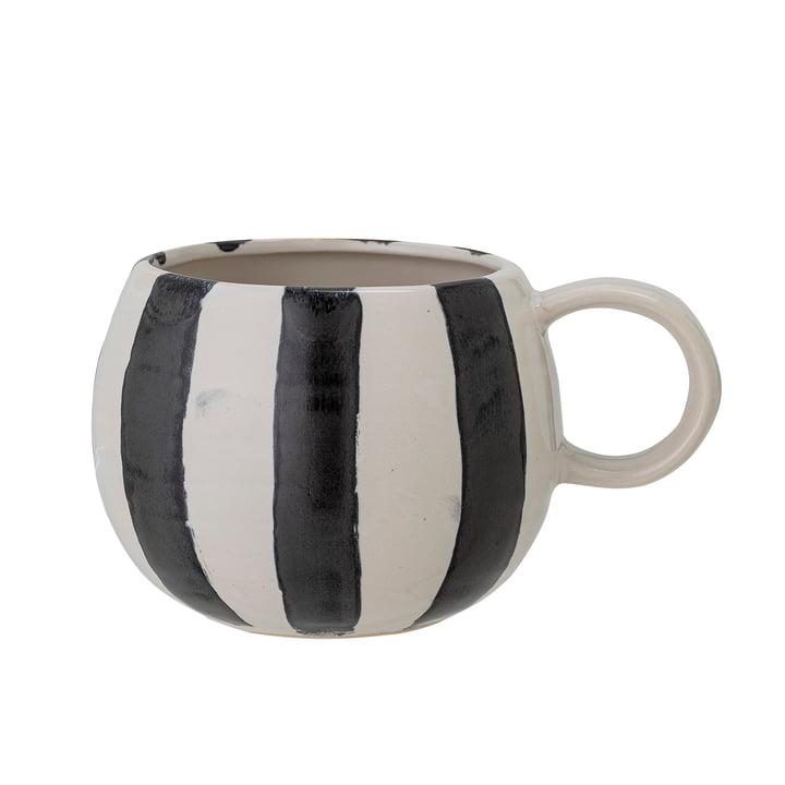 Serina Mug de Bloomingville en blanc / noir