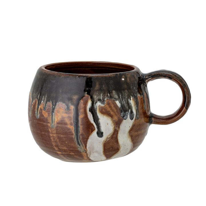 Senna Mug de Bloomingville en brun foncé