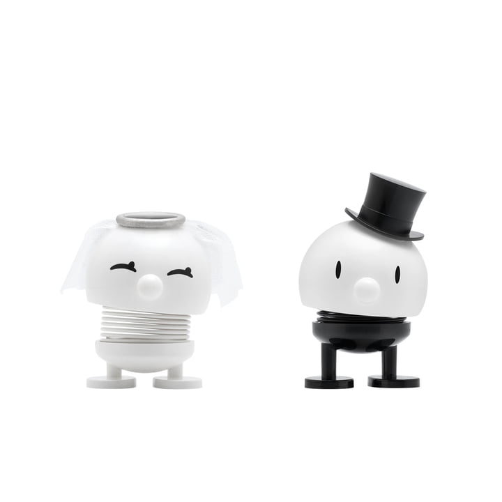 Bride & Groom, petit / blanc de Hoptimist
