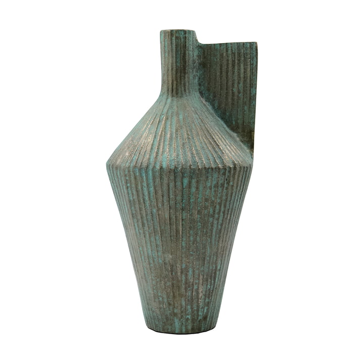 Cleo Vase, h 30 cm de House Doctor , finition or antique