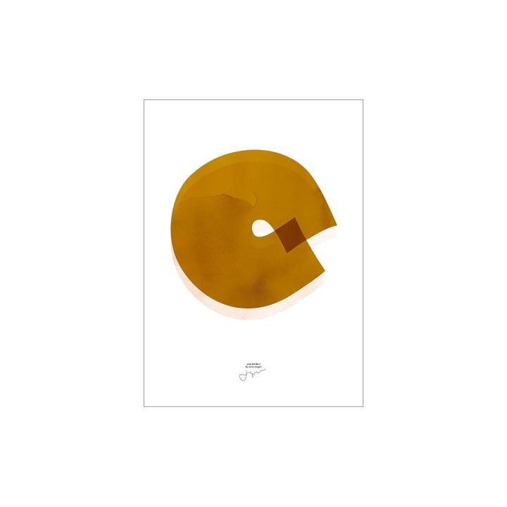 Line Art Poster 01 de Paper Collective , 30 x 40 cm