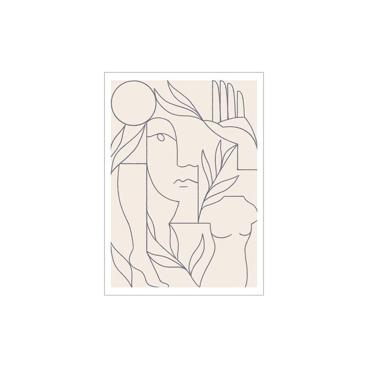 Eden Affiche de Paper Collective , 30 x 40 cm