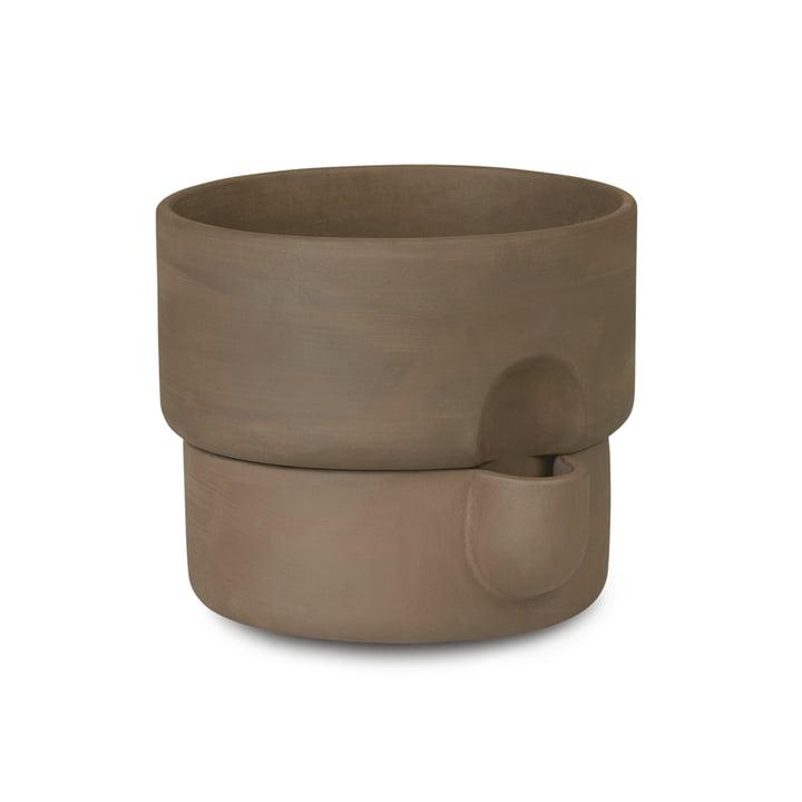 Oasis Pot à plantes Ø 15 x H 13 cm de Northern en couleur marron