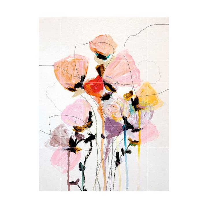 Bloom Series Sundry Murale 120 x 160 cm de IXXI