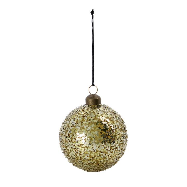 Chosen boule de sapin de Noël de House Doctor en couleur or