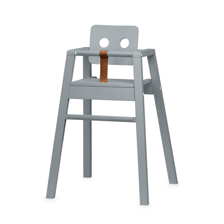Robot Chaise haute, H 80,5 cm, gris de Nofred