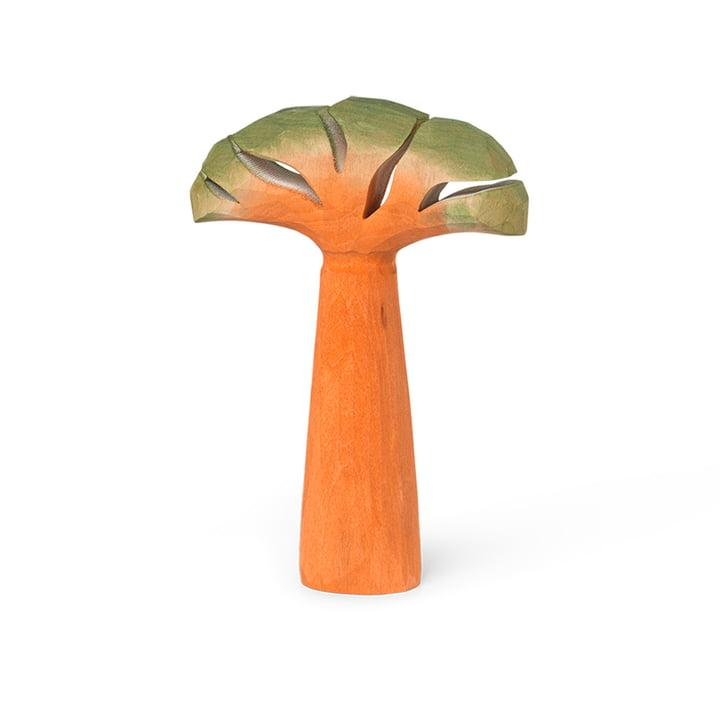Figurines en bois de safari sculptées à la main par ferm Living dans le design Baobab