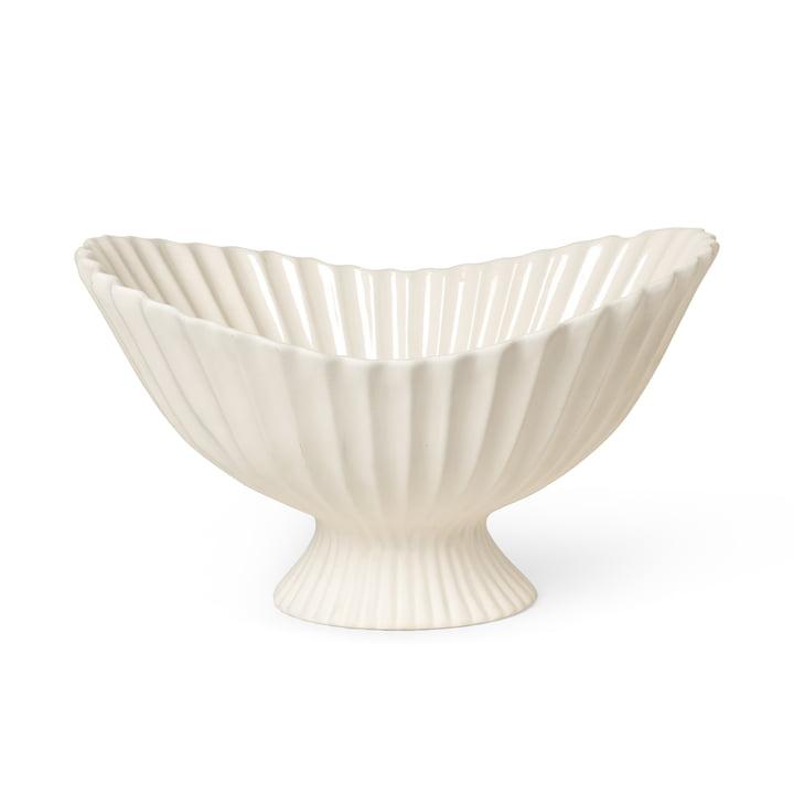 Fountain Bol décoratif de ferm Living dans la couleur off-white
