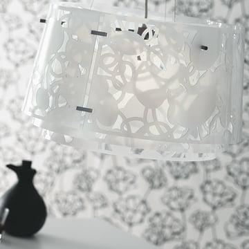 Suspension lumineuse Collage450 de Louis Poulsen