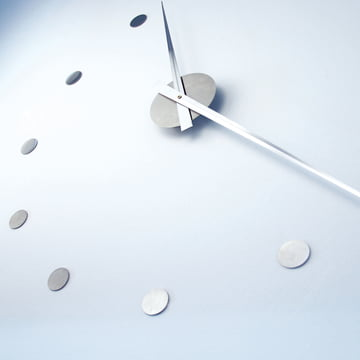 Flexible dans sa taille - l'horloge murale Flexible de Radius Design