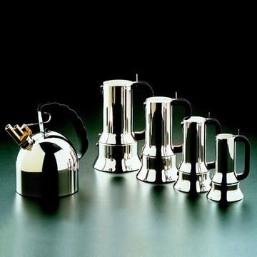 Cafetière espresso 9090, image de groupe, différentes tailles