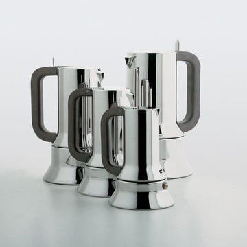 Alessi - cafetière espresso 9090, différentes tailles