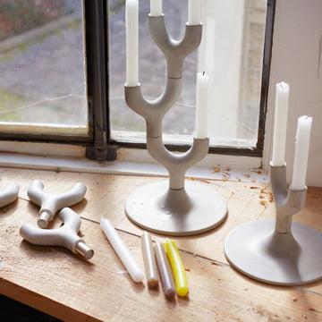 Petite Friture - Grandissant chandelier modulaire, segment