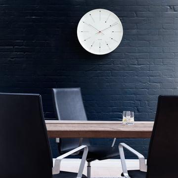 Rosendahl - banquiers AJ mural horloge - ambiance, mur noir
